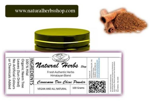 Cinnamon powder natural herbs shop
