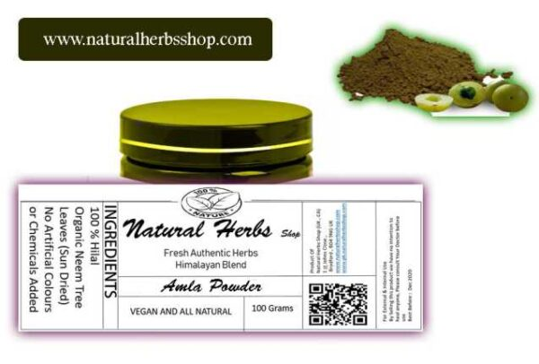 amla powder natural herbs shop