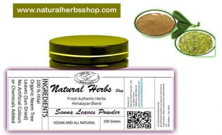 senna powder natural herbs shop